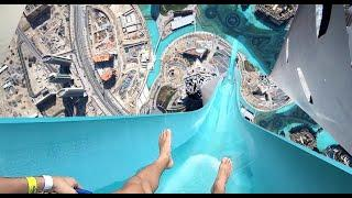 Top 10 Most Dangerous Water slides in the world  !!!  must watch