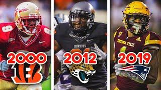 The NFL's BIGGEST WR Draft Bust Every Year From 2000 to 2019