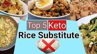 No Rice, No Problem! Top 5 Keto Rice Substitute