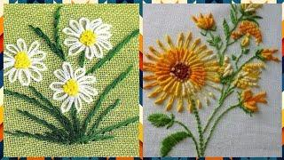 Top Latest Hand Embroidery Flowers Patterns Designs Ideas