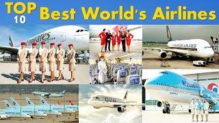 Top 10 Best Airlines In The World | Best Airline Service