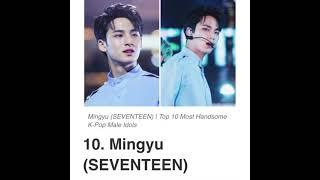 Top 10 handsome male Kpop idols (according to google)