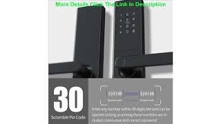 Top Smart Fingerprint Door Lock Yi-LOCK Security Intelligent Lock Biometric Electronic Wifi Door Lo