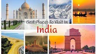 India Top 10 Tourist place Hindi 2020 #india #tourist #place