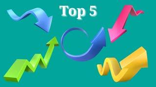 Green screen top 5 arrow। best green screen arrow effect।Top 5 animation arrow।Arrow chromakey & VFX