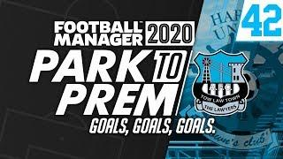 Park To Prem FM20 | Tow Law Town #42 - Goals, Goals, Goals | Football Manager 2020