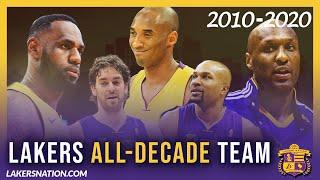 Lakers All-Decade Team