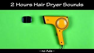 Hair Dryer Sound Compilation 33 | 2 Hour White Noise to Fall Asleep