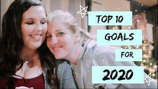Our TOP 10 GOALS for the NEW DECADE! | 2020 Family Goals