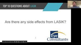 Eye Consultants Top 10 Questions about LASIK AllTogether