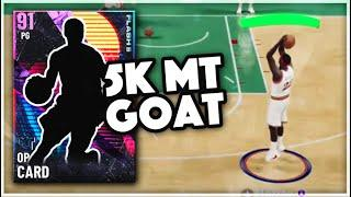 THIS 5K MT BUDGET GOAT IS ONE OF THE TOP 10 POINT GUARDS IN NBA 2K21 MyTEAM!! (MUST BUY)