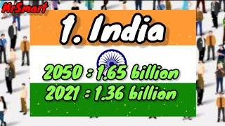 Top 10 most populated country in 2050 | MrSmart