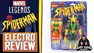 Marvel Legends Electro Spider-Man Vintage Retro Review