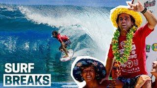 Mason Ho WINS Tahiti QS! John John Florence Trains At The Surf Ranch! Slater, Tudor Chase Records!
