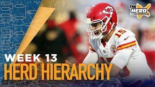 Herd Hierarchy: Colin Cowherd's Top 10 NFL teams heading into Week 13 | NFL | THE HERD