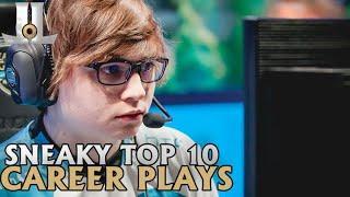 Sneaky Top 10 Career Plays | Lol esports