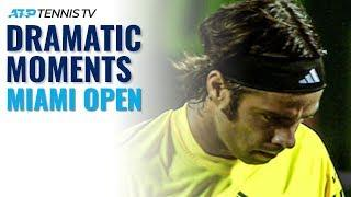 Top 5 Dramatic ATP Tennis Moments in Miami!