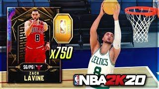*NEW* GALAXY OPAL TOKEN REWARD ZACH LAVINE GAMEPLAY!! THE BEST POINT GUARD IN NBA 2K20 MyTEAM?