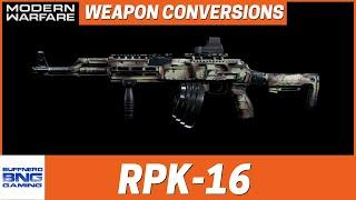 RPK-16 Steel Curtain Weapon Conversion - Call Of Duty Modern Warfare