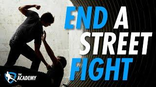 Top 3 Moves To End A Street Fight!