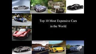 world top 10 most expensive car ||| दुनिया की टॉप 10 सबसे महंगी कार