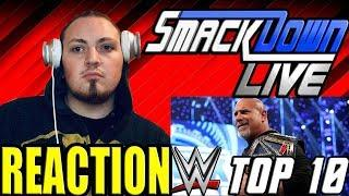 Top 10 Friday Night SmackDown moments: WWE Top 10, Feb. 28, 2020 (REACTION!!!)