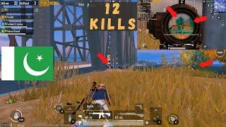 12 Kills With The Winner Of Number Top 10   Pubg Mobile Pakistan   Universal Gaming