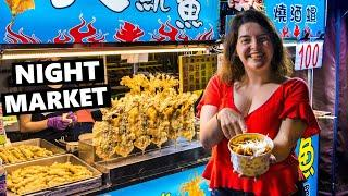 Trying Taiwanese Street Food On The Kenting NIGHT MARKET!
