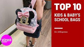 Top 10! Kids & Baby's Bags School Bags on AliExpress