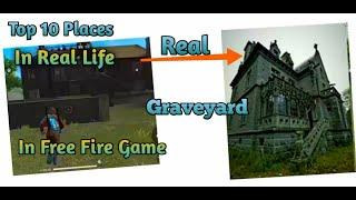 Top 10 Free Fire Places in Real Life || Free Fire Game || Tips and Tricks |