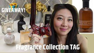 GIVEAWAY!!! FRAGRANCE COLLECTION TAG 2020 -Most Affordable? Best Perfumes? Worst Perfumes for Women?