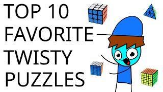 Top 10 Favorite Puzzles! (Non-WCA) | Cubeorithms