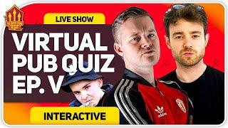 VIRTUAL PUB QUIZ LIVE! Feat. Laurence McKenna & Stephen Tries #WithTUS #StayHome #StaySafe