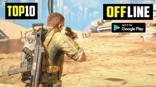 Top 10 Best OFFLINE Games for Android 2021 | 10 High Graphics OFFLINE Games For Android