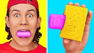 SIMPLE LAZY CLEANING LIFE HACKS AND TRICKS || DIY Best Funny Home Organization Ways By 123 GO! BOYS