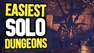 The TOP 5 Easiest Group Dungeons You Can Do Completely SOLO In The Elder Scrolls Online!