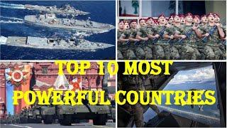 Top 10 Powerful Country | Top Ten Military in the World | World Superpower | Powerful Nations | MDR