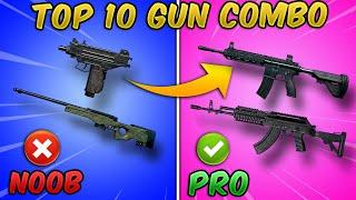 Top 10 Best Gun Combinations in PUBG MOBILE (Weapon Combo/Loadout) Tips and Tricks