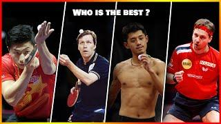 Who is the Best player off All Time in Table Tennis ? (stats comparisons)