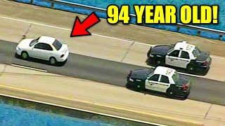 Top 10 Craziest CAR CHASES Caught on Camera! (94 Year Old, Crazy Truck)