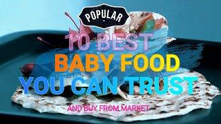 BABY Food | Top 10 Solid Food for 6 to 12 month Baby | Recipes for Baby | Homemade baby foods