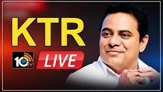 MInister KTR LIVE   Participates in U.S India Defense Ties Conference   10TV Live