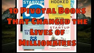 10 books every  millionaire read |business and startup| |100% successfull book for startup .