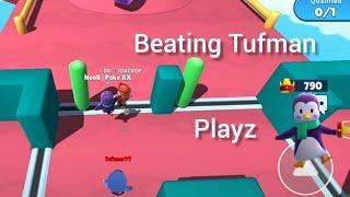 Beating Tufman and Titan Top local players Stumble Guys winning 10 crowns #4