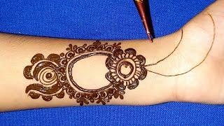New Stylish Arabic Mehndi Design || Simple Easy Mehndi Design for Front Hand || Mehndi Designs