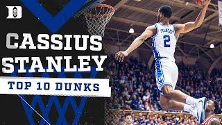 2020 DUNK KING: Cassius Stanley's Top 10 Duke Dunks!!!
