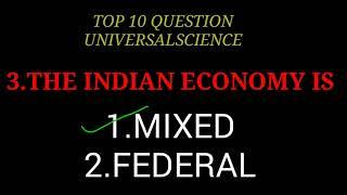 top 10 question on space and economy//answer and question // universal science