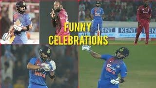 Top 10 Celebrating Moments in Cricket History 2019 | Funniest Celebrations in Cricket [Cricket]