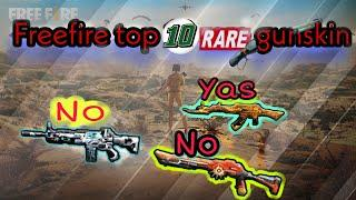 freefire top 10 underrated gun skin  best in any time poker mp40 , titanium scar ,m1887 vn gaming