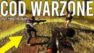 Crazy things you can do in Call of Duty Warzone